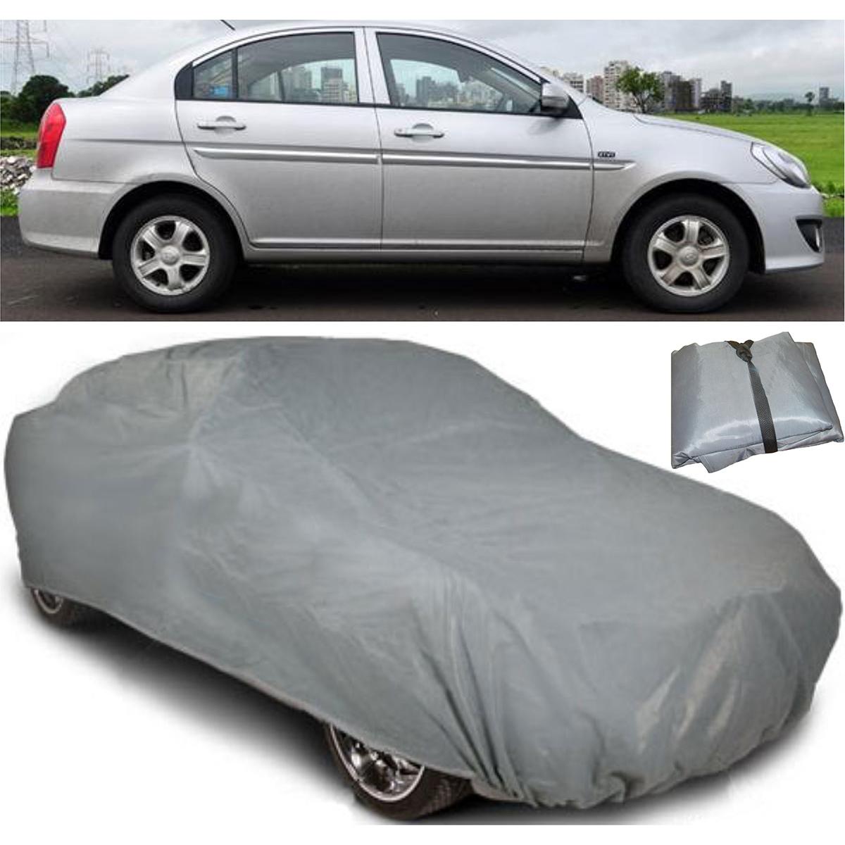Buy digitru car body cover for hyundai verna dark grey online at best price in india on
