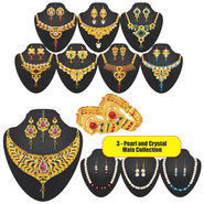 Shagun 1 Gram Gold Plated Jewellery Collection by Variation