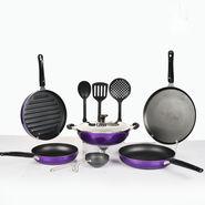10 Pcs HTR Nonstick Cookware Set