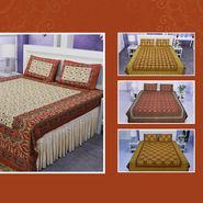 100% Cotton Pack of 5 Bagru Print Bedsheets (5BS34)
