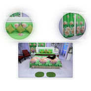 12 Pcs 3D Floral Printed Bedroom Combo - Pick Any 1