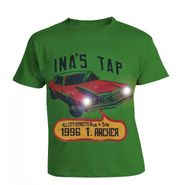 LitFab - Tshirts with Lights - TSC Car - Green