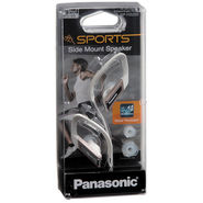 Panasonic RP HS200E K Sports Gym Earphone for iPods, MP3 (Golden)