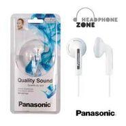 Panasonic Earphone w/Deep Bass for Ipod / MP3 player : RP-HV154E-W