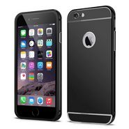 Callmate Aluminum Metal Bumper Case with Removable Back cover for iPhone 6 4.7 inch - Black