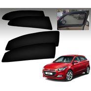 Set of 4 Premium Magnetic Car Sun Shades for HyundaiI20Elite
