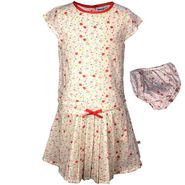 ShopperTree Multi Flower Dress with Panty Set