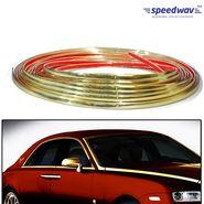 Speedwav Side Window Stylish Golden Beading Roll - 10 meter