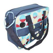 Wonderkids Blue Bubble Print Diaper Bag_MW-344-BLUE