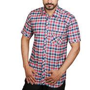 Sparrow Clothings Cotton Checks Shirt_wjc23 - Multicolor