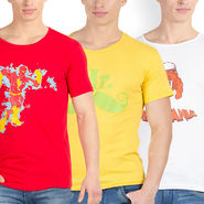 Pack of 3 Incynk Cotton T Shirts_Mhtc436