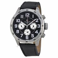 Tommy Hilfiger Round Dial Analog Watch_th1791050j - Black