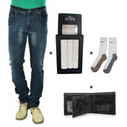 Combo of Denim & Essential Accessories