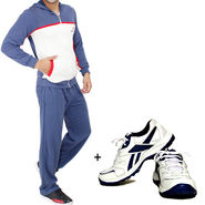 Combo of Stylox Cotton Tracksuit + Shoes_trk8003