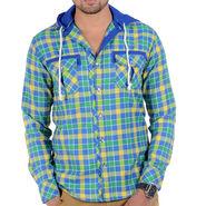 Bendiesel Checks Cotton Shirt_Bdc078a - Multicolor