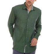 Bendiesel Plain Cotton Shirt_Bdc098 - Green