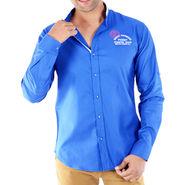 Bendiesel Plain Cotton Shirt_Bdcw031 - Royal Blue