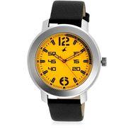 Fastrack Analog Watch_ 3121sl03 - Yellow