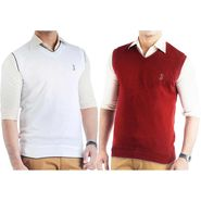 Pack of 2 Sleeveless Sweaters For Men_Srihs12