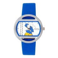 Exotica Fashions Analog Oval Dial Watch For Women_Efl8w72 - Blue