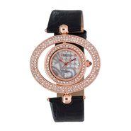 Exotica Fashions Analog Round Dial Watch For Women_Efl15w2 - White & Grey