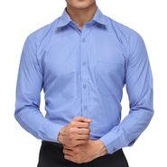 Rico Sordi Full Sleeves Stripes Shirt_R004f - Blue