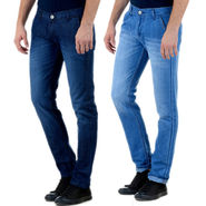Pack of 2 Slim Fit Attractive Jeans_Jd86s19