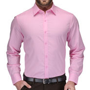 Full Sleeves Cotton Shirt_bbpnksht - Pink