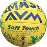 AVM Multicolor Smash Volleyball - Size 5, Dia 2.5 cm