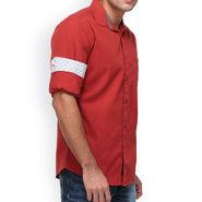 Crosscreek Full Sleeves Cotton Casual Shirt_1180304F - Brick