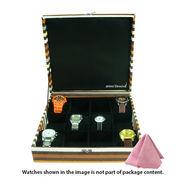 12 Slot Leatherette Vintage Watch Organiser_ADWB0000132