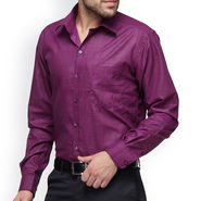 Copperline Cotton Rich Formal Shirt_CPL1169 - Purple