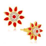 Spargz Flowral Earring_Aier399 - Multicolor