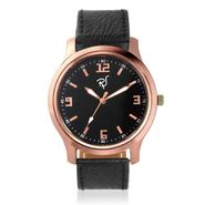 Rico Sordi Analog Round Dial Watch For Men_Rsmwl94 - Black