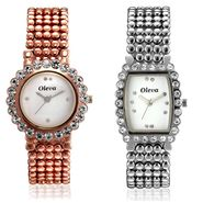 Combo of 2 Oleva Analog Wrist Watches For Women_Ovd1001