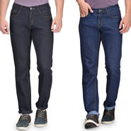 Pack of 2 Rico Sordi Plain Jeans For Men