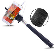 Shutterbugs Monopod Selfie Stick With Aux Cable (Assorted)