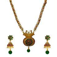 Spargz Alloy Metal Necklace Set_Ains010