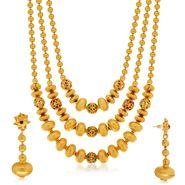 Spargz Brass Metal Necklace Set_Ains106