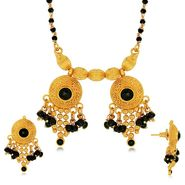 Spargz Brass Metal Mangalsutra Set_Aims088