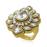 Spargz Alloy Metal Finger Ring_Aifr046