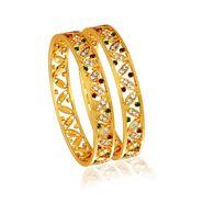 Spargz Brass Metal Bangle_Aib031