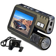 ZINGALALAA New model Dual lens HD 720P Car Cam IR LED G sensor Video Camera Recorder Camcorder DVR