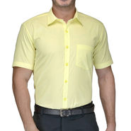 Being Fab Cotton Formal Shirt_Bfs27 - Yellow