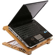 DGB Rolo Plus Laptop Cooling Pad - Wooden