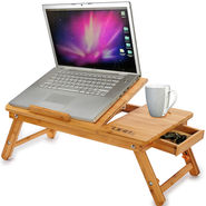 DGB Jumbo Value Plus Cooling Laptop Table - Wooden
