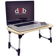 DGB Laptab LD2013 Multi functional Laptop Table - White