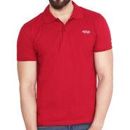 Branded Cotton Casual Tshirt_Arrow03 - Maroon