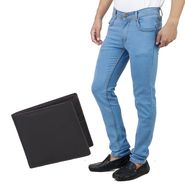 Stylox Jeans With Wallet_Dnwlt1001