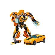Kids convertible Robot into Truck Deformation Toy Yellow